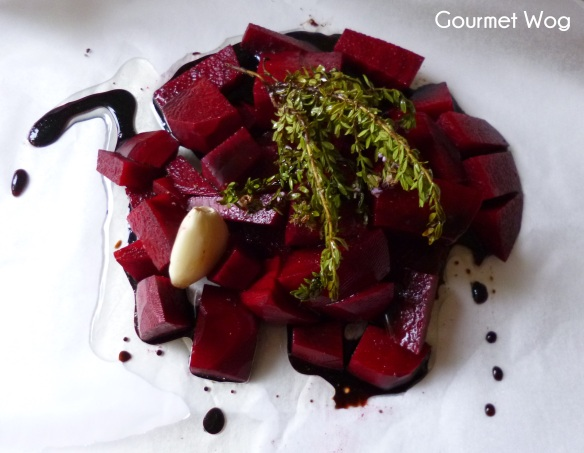 The most incredible Caramelised Balsamic Roasted Beetroots