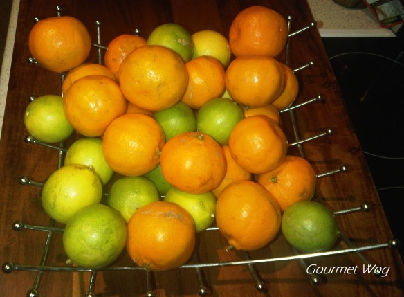 Indian Limes and Mandarins