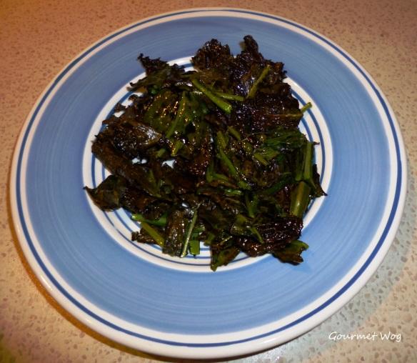 Crispy Crunchy Healthy Kale Chips