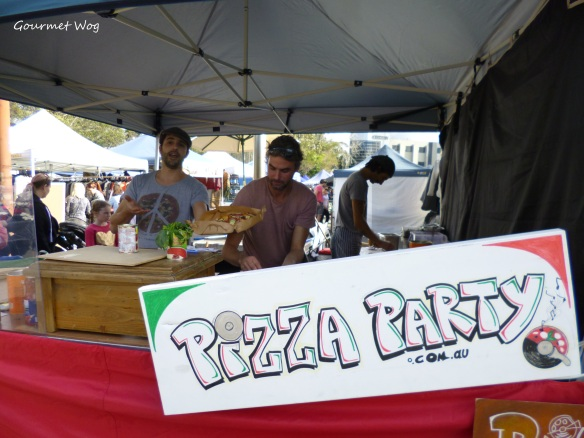 Pizza Party at Frenchs Forest Organic Markets