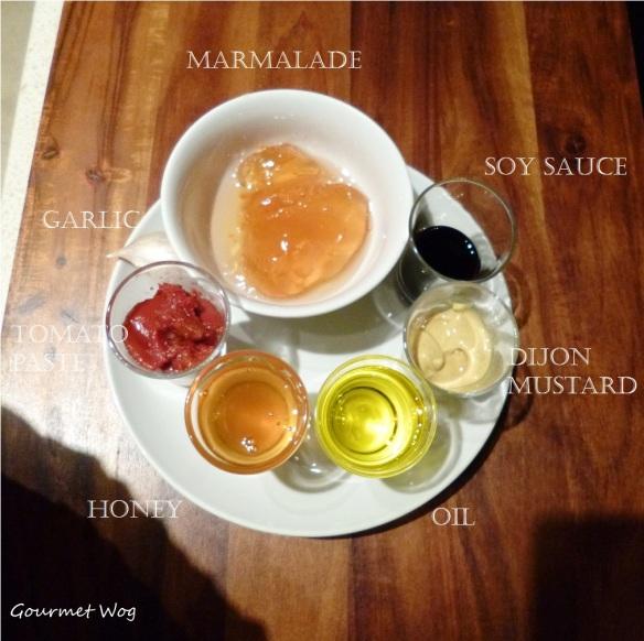 orange marmalade dijon mustard pork ribs Ingredients