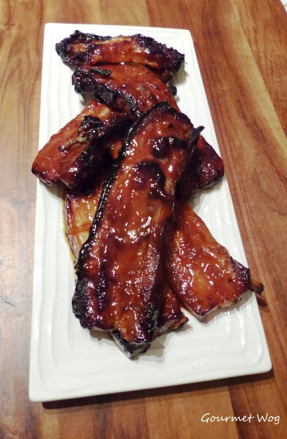 orange marmalade dijon mustard pork ribs