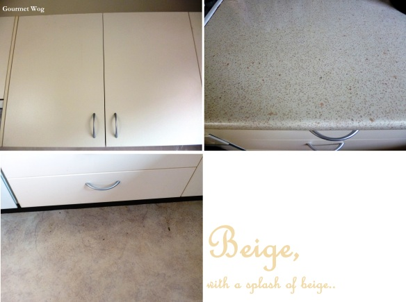 beige kitchen