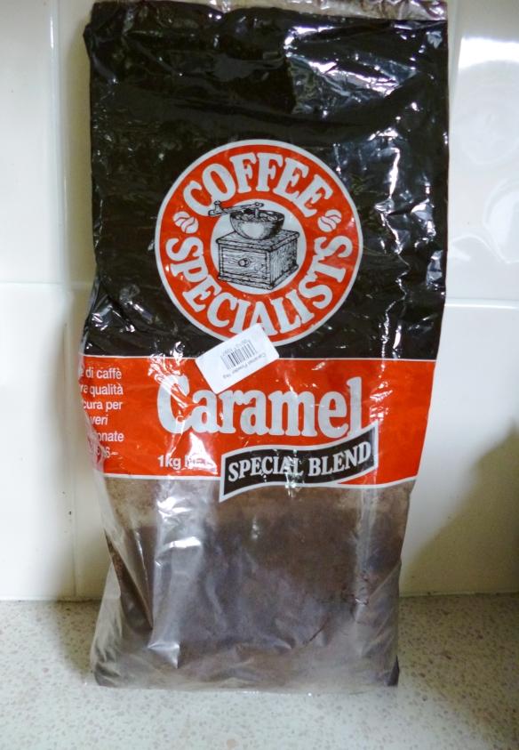 Caramel Lebanese coffee