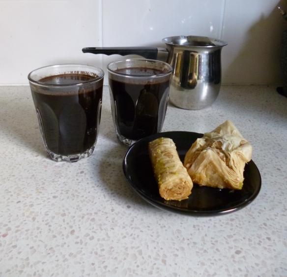 Lebanese coffee baklava