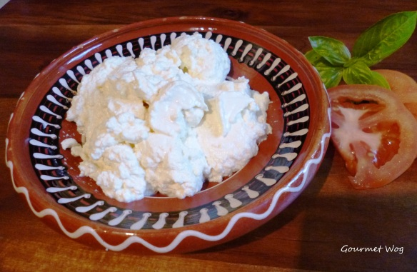 homemade ricotta cheese recipe