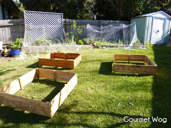 making pallet vegetable veggie patch