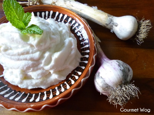 Incredible Lebanese Garlic Sauce aka Toum Dip